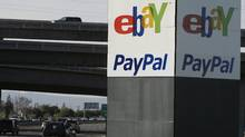 An eBay/PayPal sign is shown in San Jose, Calif. (Paul Sakuma/AP/Paul Sakuma/AP)