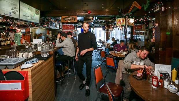 Nate Young, chef at Harry's Char Broil Dining Lounge, wanted to open a diner after finding himself always cooking the food of another region.