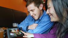 The E la Carte ordering system lets diners order without the aid of a waiter. (E la Carte)