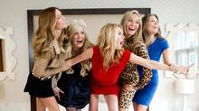 The Real Housewives of Vancouver pose for a photograph in Vancouver. (DARRYL DYCK/DARRYL DYCK / CP)