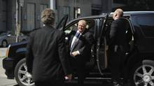 Records show Mayor Rob Ford's SUV is pulling into the City Hall parking lot later and leaving sooner. (Fred Lum/The Globe and Mail)