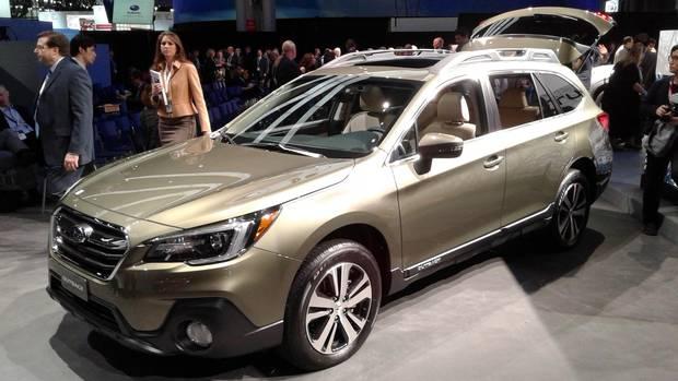 subaru new models 2018.  New 2018 Subaru Outback To Subaru New Models