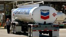 A Chevron tanker. (PAUL SAKUMA/AP/PAUL SAKUMA/AP)