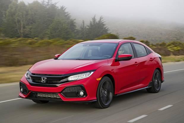 2017 Honda Civic.