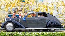 Peter Mullin's 1934 Avions C25 Aerodyne won best of show at the Pebble Beach Concours d'Elegance (Kimball Studios/Pebble Beach Concours d'Elegance)