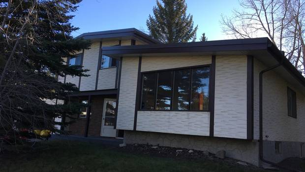 Renovation Brings Calgary House Out Of The Seventies The Globe And Cool 2 Bedroom Apartments For Rent In Calgary Exterior Remodelling