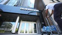 The offices of Quebecor Inc. seen in Montreal on May 8, 2013. (Christinne Muschi For The Globe and Mail)