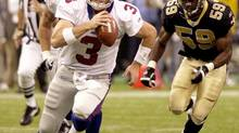 Ottawa native Jesse Palmer, who played college ball at the University of Florida and appeared in eight NFL games for the New York Giants and San Francisco 49ers, said he felt compelled to look southward to attain his dream. (ANDREW COHOON/AP)