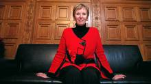 Interim NDP leader Nycole Turmel sits in her office on Parliament Hill. (Dave Chan for The Globe and Mail)