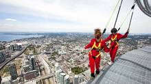 MasterCard's Priceless Cities promotion offers high-value cardholders VIP access to activities such as the CN Tower EdgeWalk. (Mark Blinch/Reuters/Mark Blinch/Reuters)