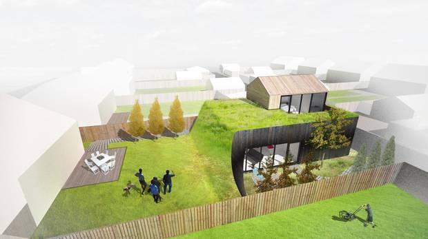 Rockliff Pierzchajlo Kroman Architects won Merit at the Edmonton Infill Design Competition for their design Backyard Pingo entry.