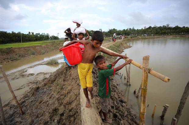Since Aug. 25, more than 420,000 Rohingya have fled Myanmar. In Bangladesh they find relative safety from violence, but not from their precarious, stateless condition.
