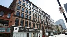 The Roy Building on Barrington street in downtown Halifax will be turned into condos. (PAUL DARROW FOR THE GLOBE AND MAIL)