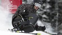 Disabled skier Josh Dueck. (Jeff Bassett for the Globe and Mail) (Jeff Bassett)