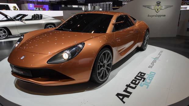 The new Touring Superleggera Artega Scalo.