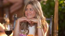 Jennifer Aniston in the film, Just Go with it.