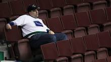 A Vancouver Canucks is seen in this file photo in Vancouver June 15, 2011. (JOHN LEHMANN/The Globe and Mail)