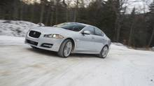 2013 Jaguar XF with AWD. (Jaguar)