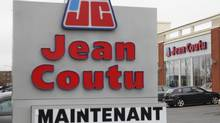 An exterior shot of Jean Coutu store in Longueuil, Que. (Christinne Muschi For The Globe and Mail)
