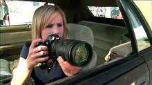 Kristen Bell in the film adaptation of Veronica Mars. She and husband Dax Shepard recently spearheaded a campaign to deter paparazzi from taking unauthorized pictures of celebrity offspring.