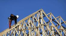 New home construction in Richmond Hill, Ontario. (Moe Doiron/Moe Doiron/The Globe and Mail)