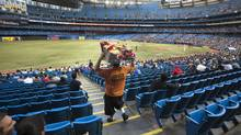 Empty seats at Rogers Centre during game between the Toronto Blue Jays and the division leading Baltimore Orioles May 30, 2012. (The Globe and Mail/The Globe and Mail)