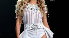 Singer Beyoncé performs on her Mrs. Carter Show World Tour 2013 at Staples Center on Monday, July 1, 2013, in Los Angeles. (Frank Micelotta/AP)
