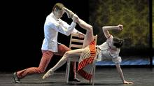 "A scene from the Atlantic Ballet Theatre of Canada's ""Ghosts of Violence"""