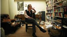 Martin Amis in London (Randy Quan/The Globe and Mail)