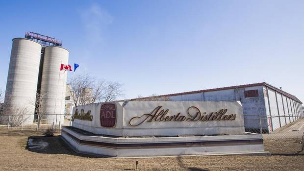 The 67-year-old Alberta Distillers Ltd. plant in Calgary makes Alberta Premium, one of the few remaining 100-per-cent rye grain whiskies produced in North America. (Chris Bolin For The Globe and Mail)