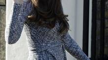 Catherine, Duchess of Cambridge, arrives for a visit to Hope House addiction treatment centre in South London on Feb. 19, 2013. (LUKE MACGREGOR/Reuters)