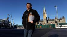 Shoal Lake 40 Chief Erwin Redsky wants Ottawa to intervene in his first nation's dispute with the City of Winnipeg. (Dave Chan)