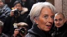International Monetary Fund (IMF) President Christine Lagarde. (© Thierry Roge / Reuters/Thierry Roge /REUTERS)