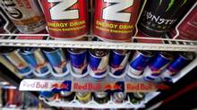 FILE PHOTO: Energy drinks are shown in a store on Monday July 26, 2010 in Montreal. (Paul Chiasson/The Canadian Press)