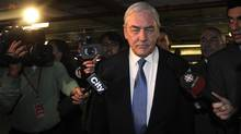 The OSC said Tuesday it will hold a hearing March 26 and 27 to consider Conrad Black's request to stay proceedings in his case, or alternately, to get more direction about the scope of the allegations the regulator intends to make against him. (Fred Lum/The Globe and Mail)