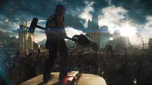 In Dead Rising 3 there aren't just dozens of zombies; there are hundreds, maybe even thousands. There are zombies as far as the eye can see, in every direction. And they aren't just animated background elements – each is a fully realized individual whose sole reason for existence is to eat your brains. (Capcom Vancouver)