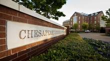 Chesapeake Energy Corporation's 50 acre campus is seen in Oklahoma City, Oklahoma in this file photo taken April 17, 2012. (STEVE SISNEY/REUTERS)