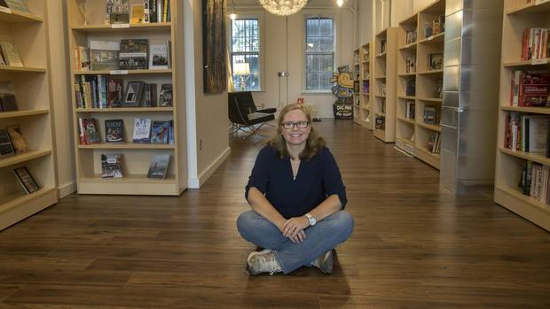 Michelle Berry says that although she still sometimes feels like she's in over her head, she finds running her store fulfilling.