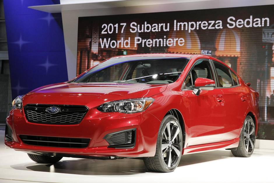 2017 impreza charts subaru s course the globe and mail. Black Bedroom Furniture Sets. Home Design Ideas