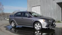 2013 Mitsubishi Lancer GT AWC (Ted Laturnus for The Globe and Mail)