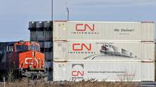 Petrochemicals help CN buck slow economy (Graham Hughes/THE CANADIAN PRESS)