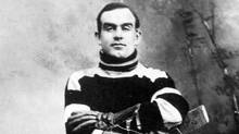 Frederick (Cyclone) Taylor played 14 years in the NHL from 1907 to 1923. He Was inducted into the Hockey Hall of Fame in 1947 (Hockey Hall of Fame)