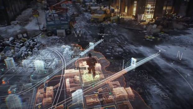 "Tom Clancy's The Division – The Division focuses on New York City after the outbreak of a man-made pandemic. Players will take on the roles of government sleeper agents who are awakened by ""Directive 51,"" a creepy-sounding-yet-real presidential order meant to prevent societal breakdown in the event of such major events. The game itself will be an open-world, third-person massive online role-playing shooter for next-generation consoles. So yup, it's ambitious. Based on early looks, it should be worth it. (Publisher: Ubisoft, Developer: Ubisoft Massive, Release: 2014) (Ubisoft)"