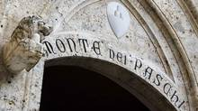 Banca Monte dei Paschi di Siena may not survive the twin threats of a gruesomely expensive takeover gone bad and a derivatives scandal that may result in legal action against the bank's former executives. (STEFANO RELLANDINI/REUTERS)
