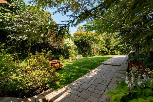 The majesty of the gardens is one of the main selling points of the home.