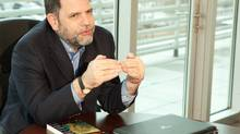 Economics professor, prolific author and blogger Tyler Cowen anticipates short-term volatility but adds: 'I do not think we are headed for doom.' (Stephen Gosling)