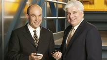 Jim Balsillie and Mike Lazaridis, Nation Builders of the Decade for Innovation