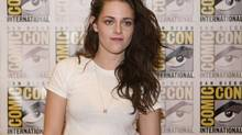 "Actress Kristen Stewart arrives for a panel discussion for the upcoming film ""The Twilight Saga Breaking Dawn Part 2"" at Comic-Con in San Diego, California July 12, 2012. (Sam Hodgson/Reuters)"
