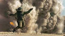A scene from BAFTA-sweeping film The Hurt Locker, directed by Kathryn Bigelow. (HO)