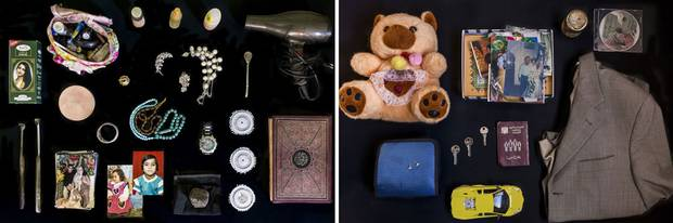 Thursday's Folio pages detailed items the Habash and Dalaa families planned to bring to Canada -- jars of cured eggplants, photographs, an old watch, a hairdryer, a teddy bear.